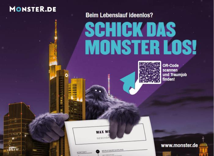 Neue Monster-Kampagne – Weckruf für Kandidaten