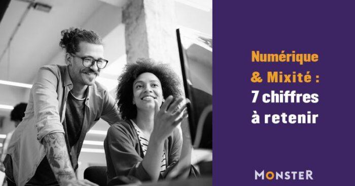 Emploi, numérique et mixité : 7 chiffres à retenir