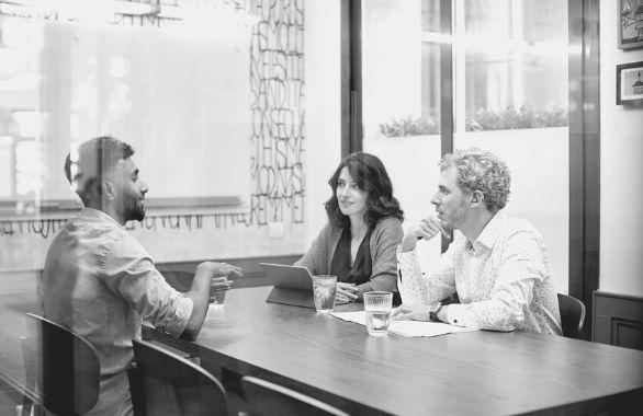 Peer-to-Peer Interviewing