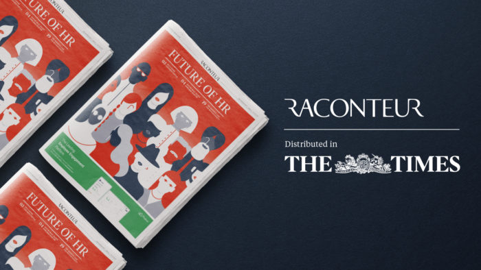 """The Future of HR – Raconteur Report distributed in """"The Times"""""""